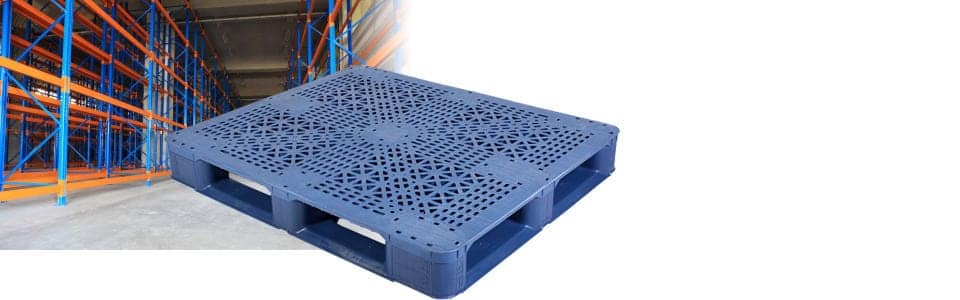 Reusable Plastic Pallets for Warehousing