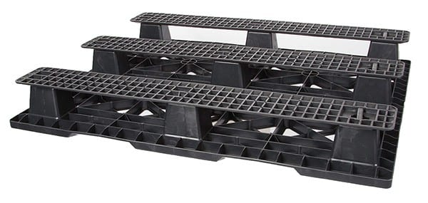 Bottom of Impala SR 48x40 Plastic Pallet