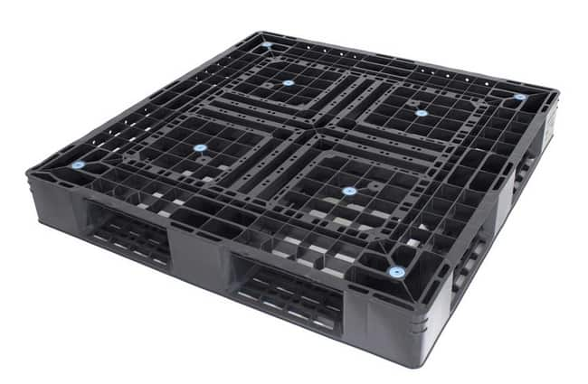 Panda 43x43 plastic pallet for export and shipping