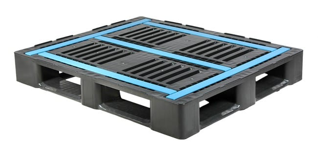 5-Runner 48x40 Plastic Rackable Pallet