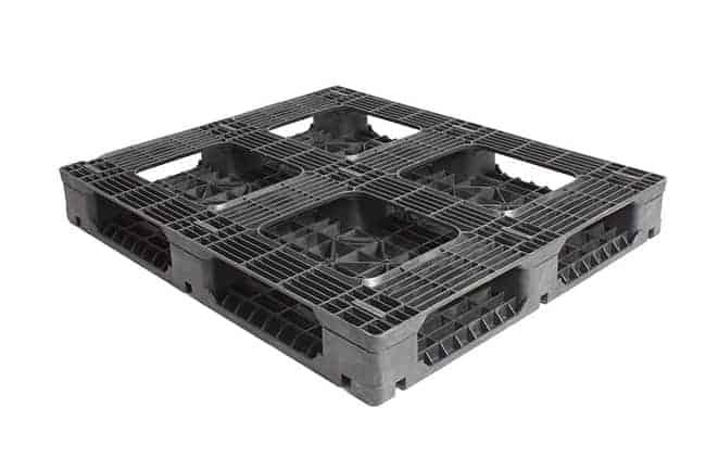 HD Racker Reusable Plastic Pallet 4840 Bottom