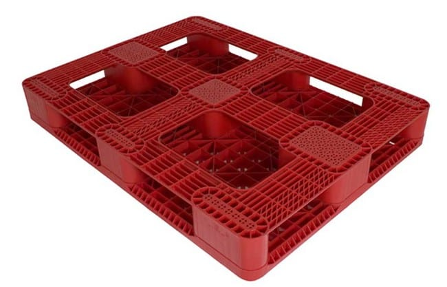 Snap Lock 67 rackable plastic pallet-B