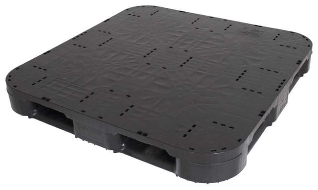 Snap Lock 48x48 plastic pallet for racking