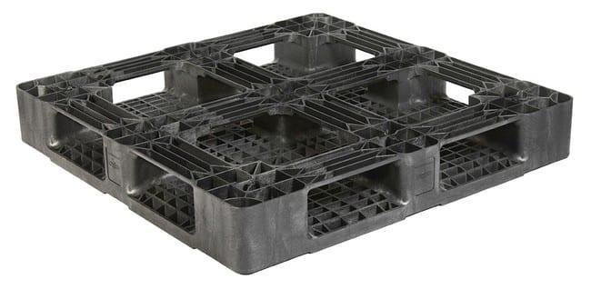 45x45 Stackable Export Plastic Pallet - Bottom