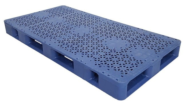 70x36 Stackable Blue Plastic Pallet