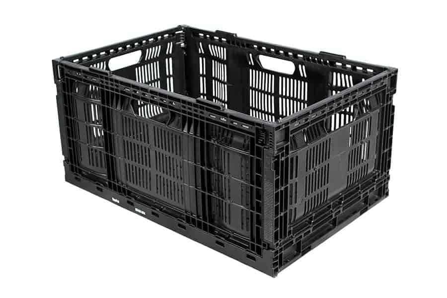 Returnable Plastic Crate 64x28