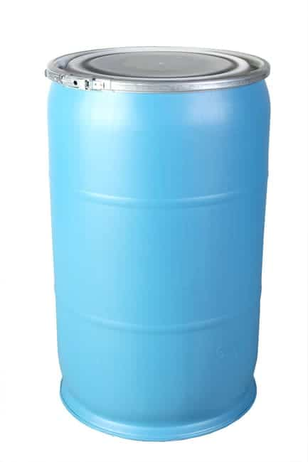 55 Gallon Open-Top Drum in Blue