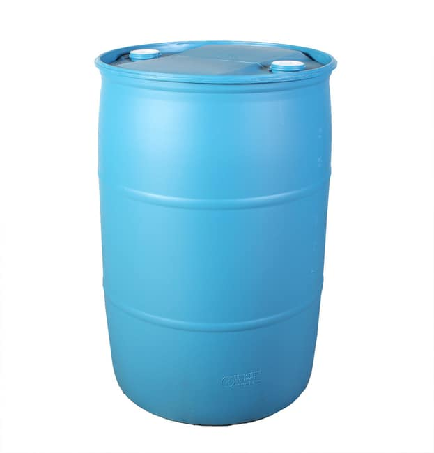 55 Gallon Tight-Head Drum in Blue