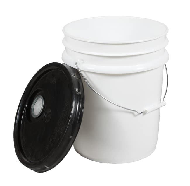 5 Gallon Pail with Black Lid