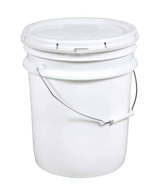 5 Gallon Pail with White Lid