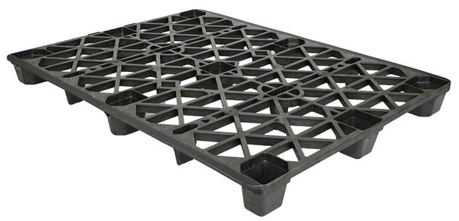 65x50 Plastic Nestable Pallet for Export and Shipping