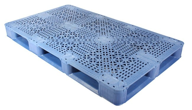 70x40 Stackable Blue Plastic Pallet