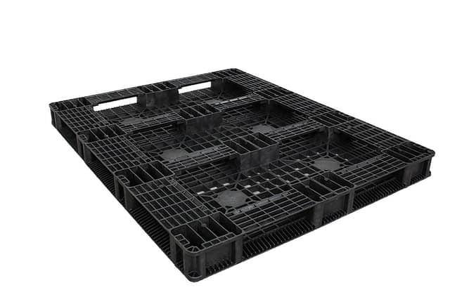 HD Stacker 60x48 Plastic Pallet - Bottom