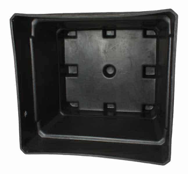 MegaBin 100 Series Rotational Molded Plastic Bin- Inside