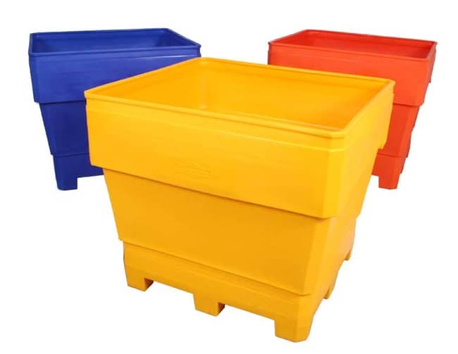 MegaBin Rotational Molded Plastic Bin- Assorted Colors