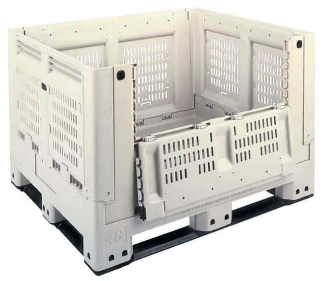 Shuttle Collapsible Plastic Bin (Door Down)