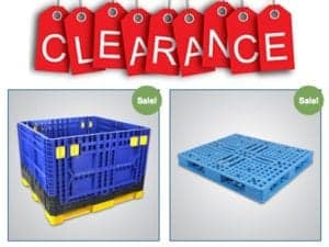 Clearance Sale July 2018