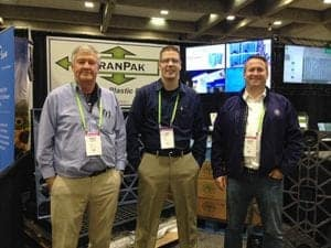TranPak Book at 2016 Almond Conference
