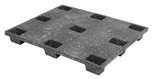 The ProPal 48x40 Plastic Pallet is created using compression molding