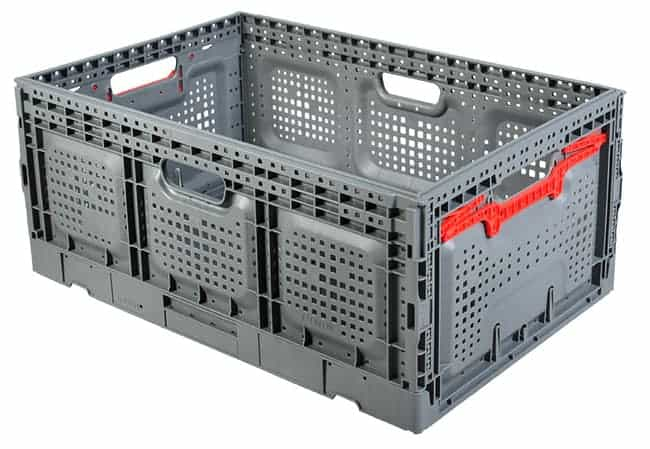 Returnable Plastic Crate 64x26