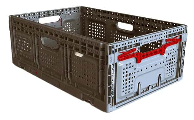 Returnable Plastic Crate 64x22
