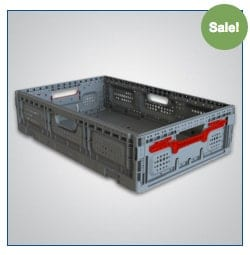 Returnable Plastic Crate 64x15