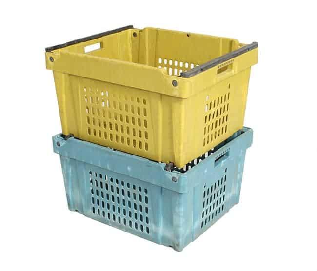 Fresh Tote Handheld Plastic Crate