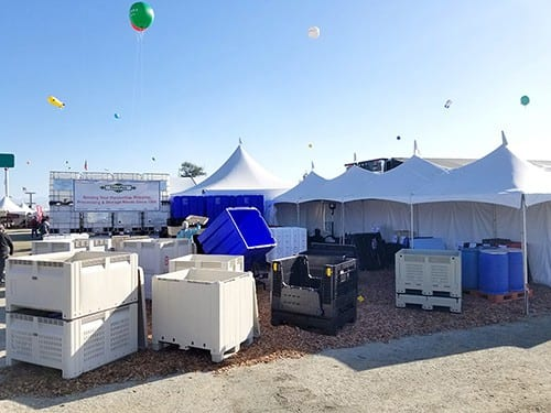 TranPak Booth at the 2018 World Ag Expo