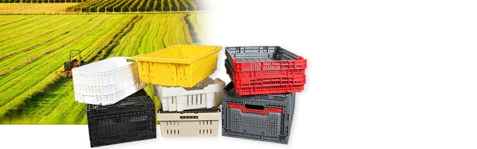 Handheld Plastic Containers for Harvest