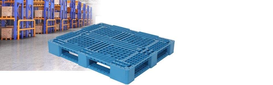 TranPak's Sigma 48x40 Plastic Pallet