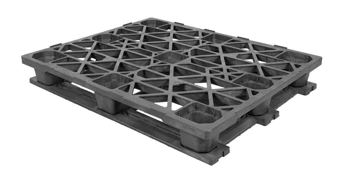 Nitro 48x40 with Base Stackable Plastic Pallet