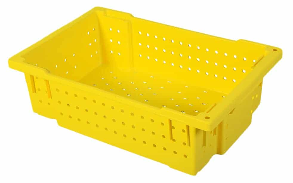 OmniCrate - Full Ventilated Plastic Handheld Crate