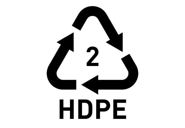 symbol for hdpe plastic