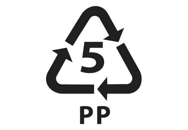 symbol for pp plastic