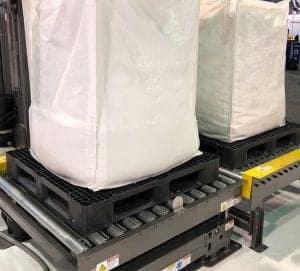 Bulk Bag on CP9 45x45 Plastic Pallet