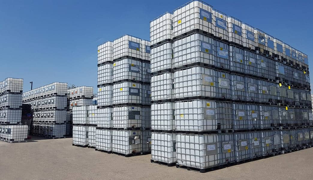 Reconditioned IBC's Stacked